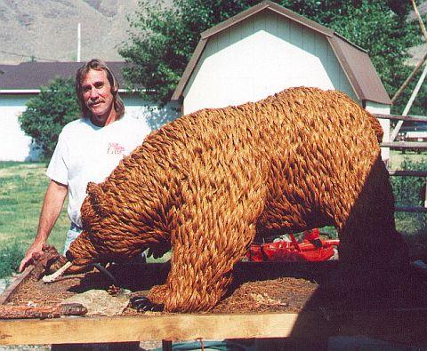 Richard Carpenter\'s Pine Needle Bears!
