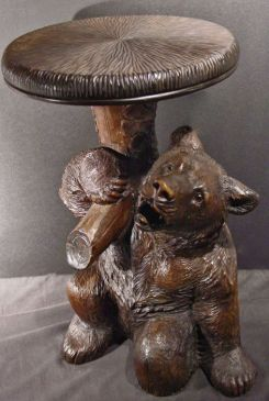 Wood Carved Bears Bears And Buds Teddy Bear Magazine